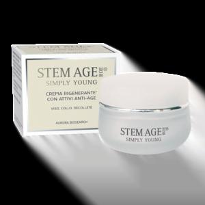 STEM AGE ROE Crema viso rigenerante anti age